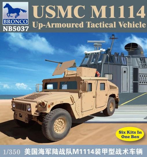 Bronco Models - USMC M-1114 UP-Armoured Vehicle