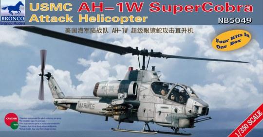 Bronco Models - USMC AH-1W Super Cobra Attack Helicopter
