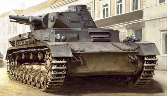 Hobby Boss - German Panzerkampfwagen IV Ausf C