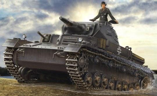 Hobby Boss - German Panzerkampfwagen IV Ausf D/TAUCH