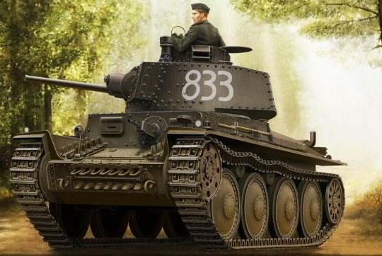 Hobby Boss - German Panzer Kpfw.38(t) Ausf.E/F