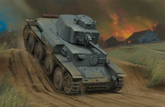 Hobby Boss - German Panzer Kpfw:38(t) Ausf.G