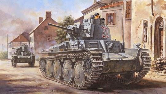 Hobby Boss - German Pz.Kpfw. /Pz.BfWg 38(t) Ausf.B