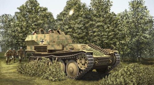 Hobby Boss - German 2cm Flak 38 Pz.Kpfw.38 (t)