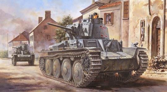 Hobby Boss - German Panzer Kpfw.38(t) Ausf.B