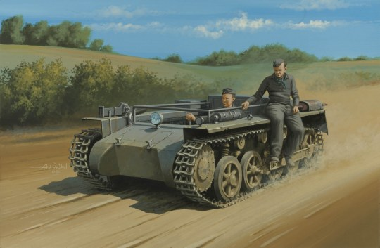 Hobby Boss - German Pz.Kpfw.1 Ausf.A ohne Aufbau