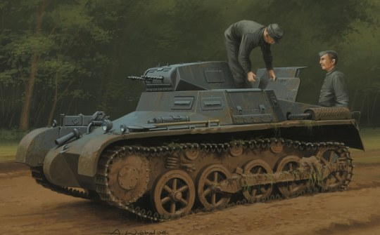 Hobby Boss - German Panzer 1Ausf A Sd.Kfz.101(Early/ Late Version)