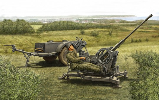Hobby Boss - 2cm Flak38 Late Version/Sd. Ah 51