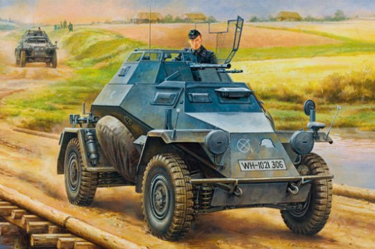Hobby Boss - German Leichter Panzerspahwagen(2cm)Mid Version