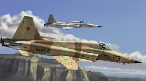 Hobby Boss - F-5E Tiger II fighter - Re-edition