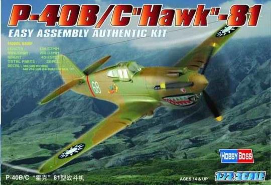 Hobby Boss - P-40B/C ''HAWK''-81A
