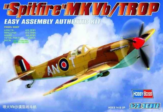 Hobby Boss - Spitfire MK.Vb TROP