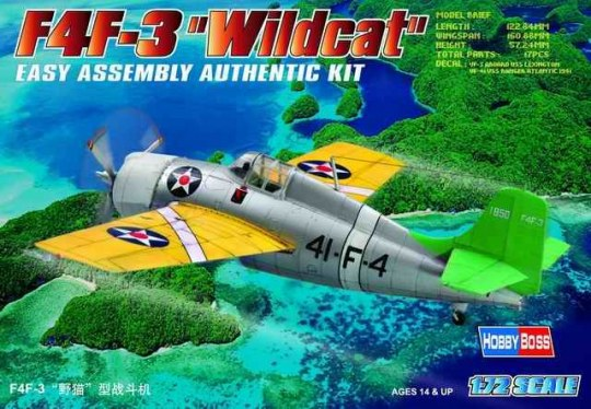 Hobby Boss - F4F-3  ''Wildcat''