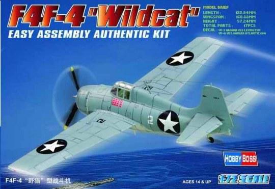 Hobby Boss - F4F-4  ''Wildcat''