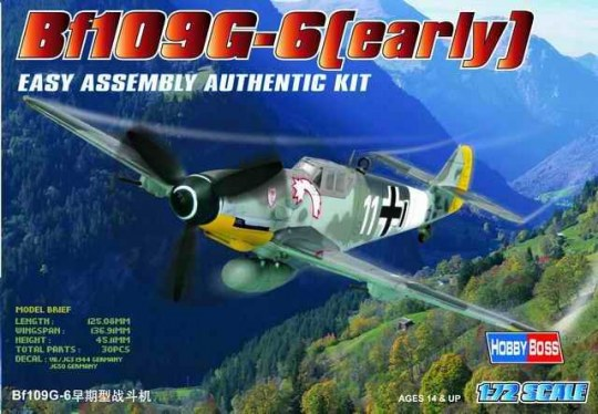 Hobby Boss - Bf109 G-6 (early)