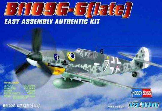 Hobby Boss - Bf109 G-6 (late)