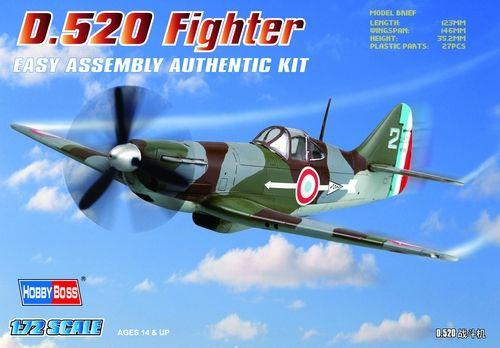 Hobby Boss - French D.520 Fighter