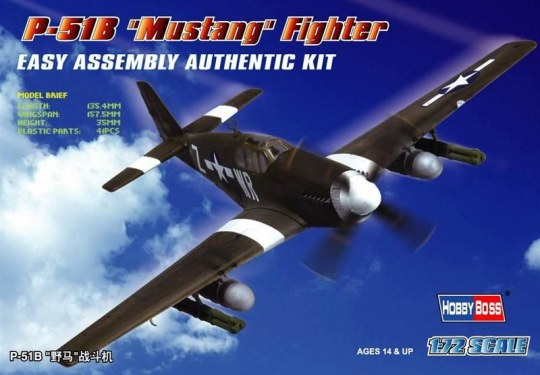 Hobby Boss - P-51B 'Mustang' Fighter