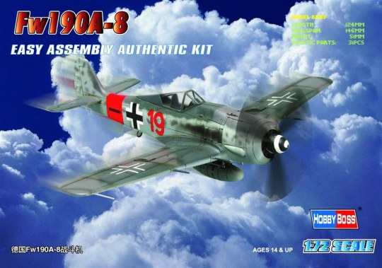 Hobby Boss - Germany Fw190A-8 Fighter