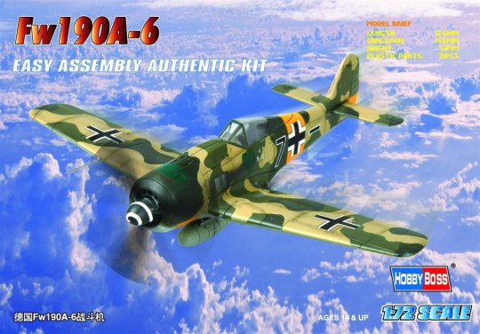 Hobby Boss - Germany Fw190A-6 Fighter