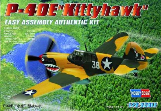 Hobby Boss - P-40E ''Kitty hawk''