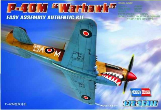 Hobby Boss - P-40M ''Kitty hawk''