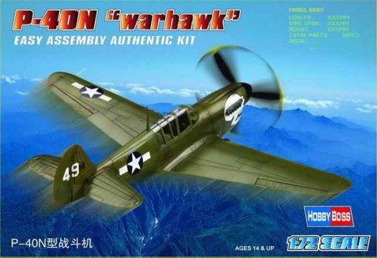 Hobby Boss - P-40N ''Kitty hawk''