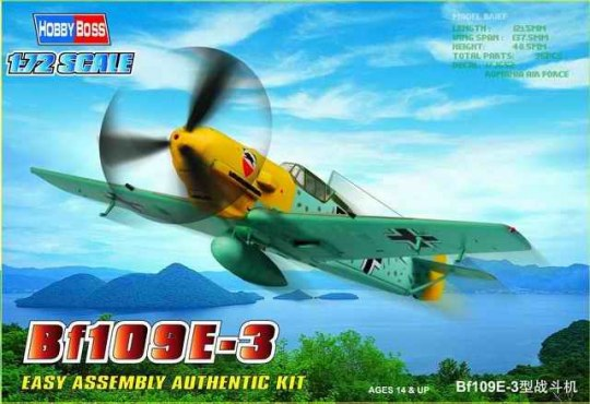 Hobby Boss - Bf109E-3 Fighter