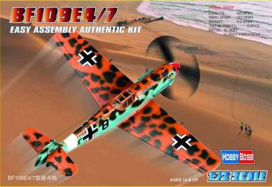 Hobby Boss - Bf109E-4/7