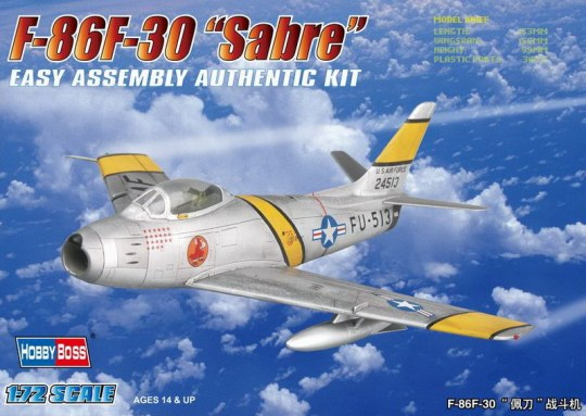 Hobby Boss - F-86F-30 'Sabre' Fighter