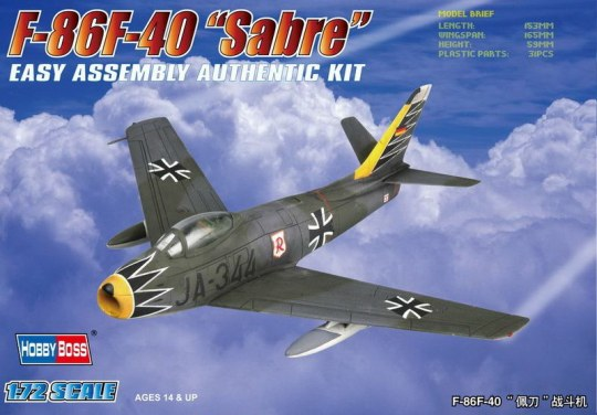 Hobby Boss - F-86F-40 'Sabre' Fighter