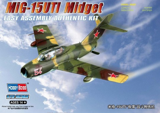 Hobby Boss - MiG-15UTI Midget