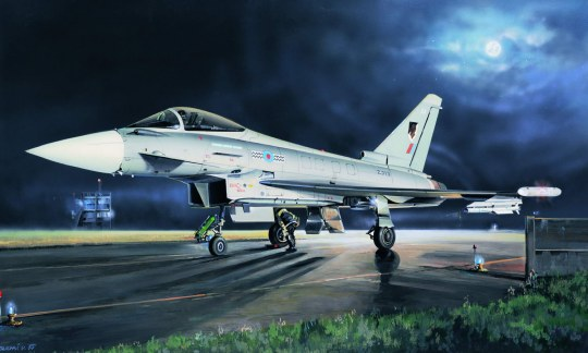 Hobby Boss - EF-2000A Eurofighter Typhoon