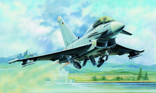 Hobby Boss - EF-2000B Eurofighter Typhoon