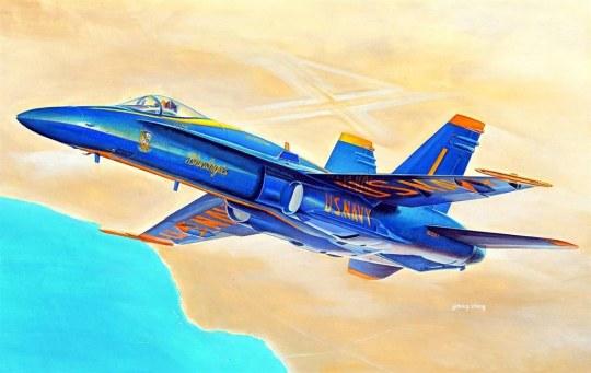 Hobby Boss - F/A-18A HORNET
