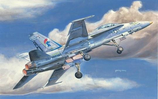 Hobby Boss - F/A-18D HORNET