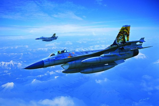 Hobby Boss - General Dynamics F-16A Fighting Falcon