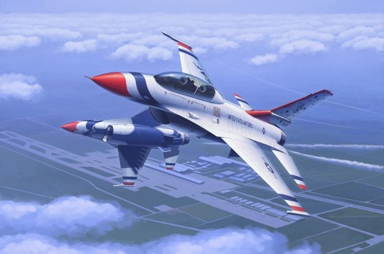 Hobby Boss - F-16D Fighting Falcon