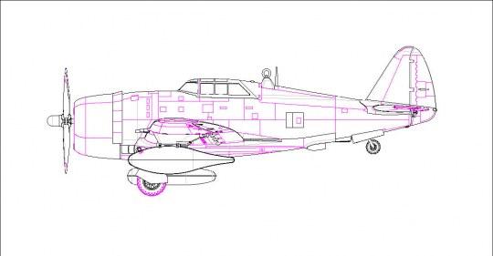 Hobby Boss - P-47D Thunderbolt Razorback