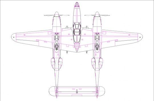 Hobby Boss - P-38L-5-L0 Lightning