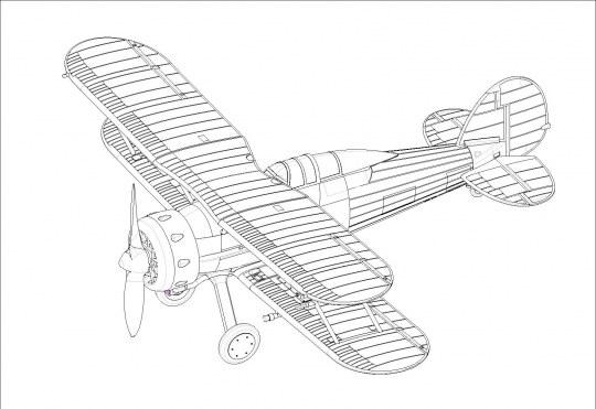 Hobby Boss - RAF Gladiator
