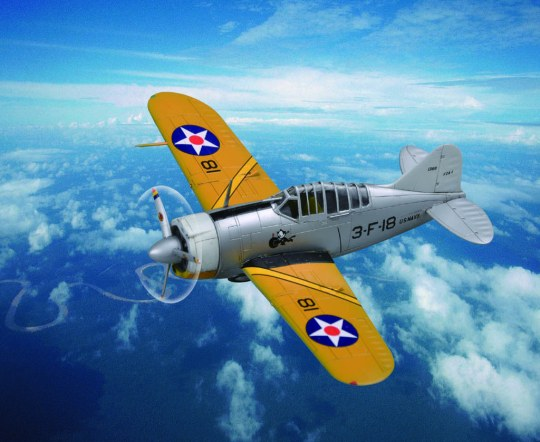 Hobby Boss - US F2A Buffalo