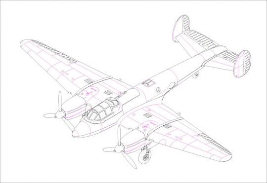 Hobby Boss - Soviet PE-2 Bomber
