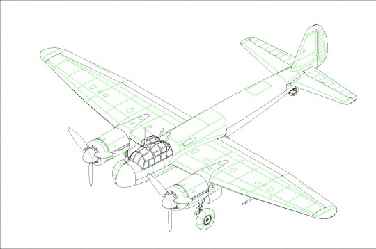 Hobby Boss - German Ju88 Fighter