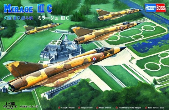 Hobby Boss - Mirage IIIC Fighter