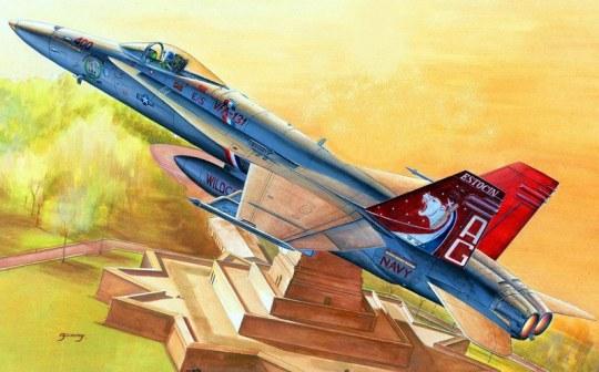 Hobby Boss - F/A-18C Hornet