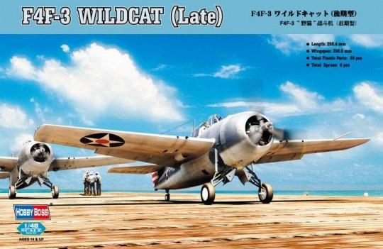 Hobby Boss - F4F-3 Wildcat Late Version