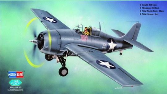 Hobby Boss - F4F-4 Wildcat Fighter