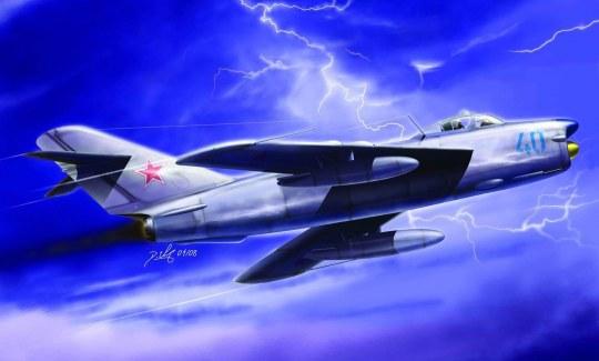 Hobby Boss - MiG-17PF Fresco D