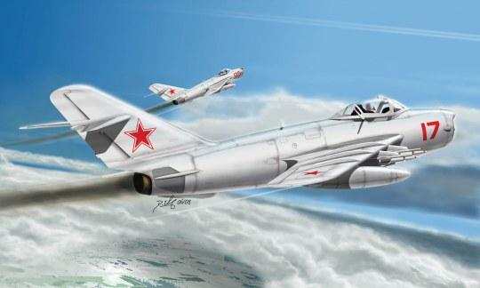 Hobby Boss - MiG-17 PFU Fresco E